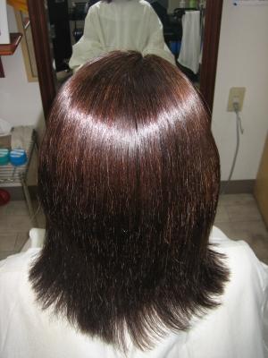 奈良市縮毛矯正で失敗した髪のお直し