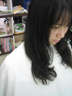 縮毛矯正 巻き髪カール