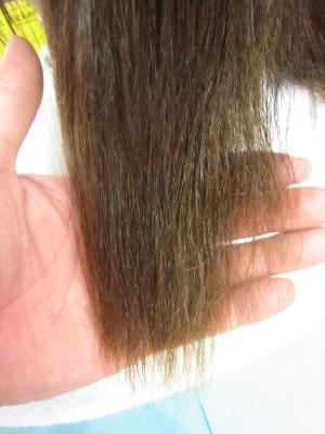 痛んだ髪の修復