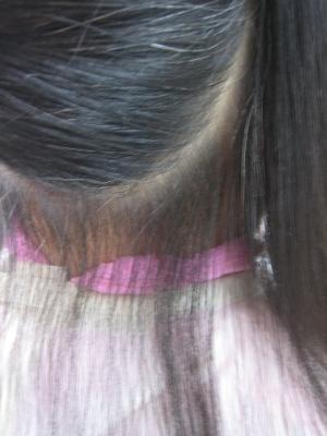 奈良市内で起きた縮毛矯正の失敗を治す