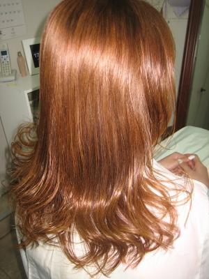 ヘアカラー 白髪染め 髪の艶 トリートメント