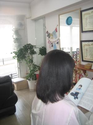 白髪染め トリートメント 奈良 40代