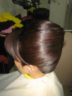 奈良 ヘアスタイル 着付け 髪型 アップ セットヘア