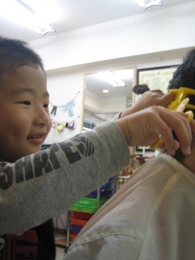 奈良子供美容室 子供専門美容室