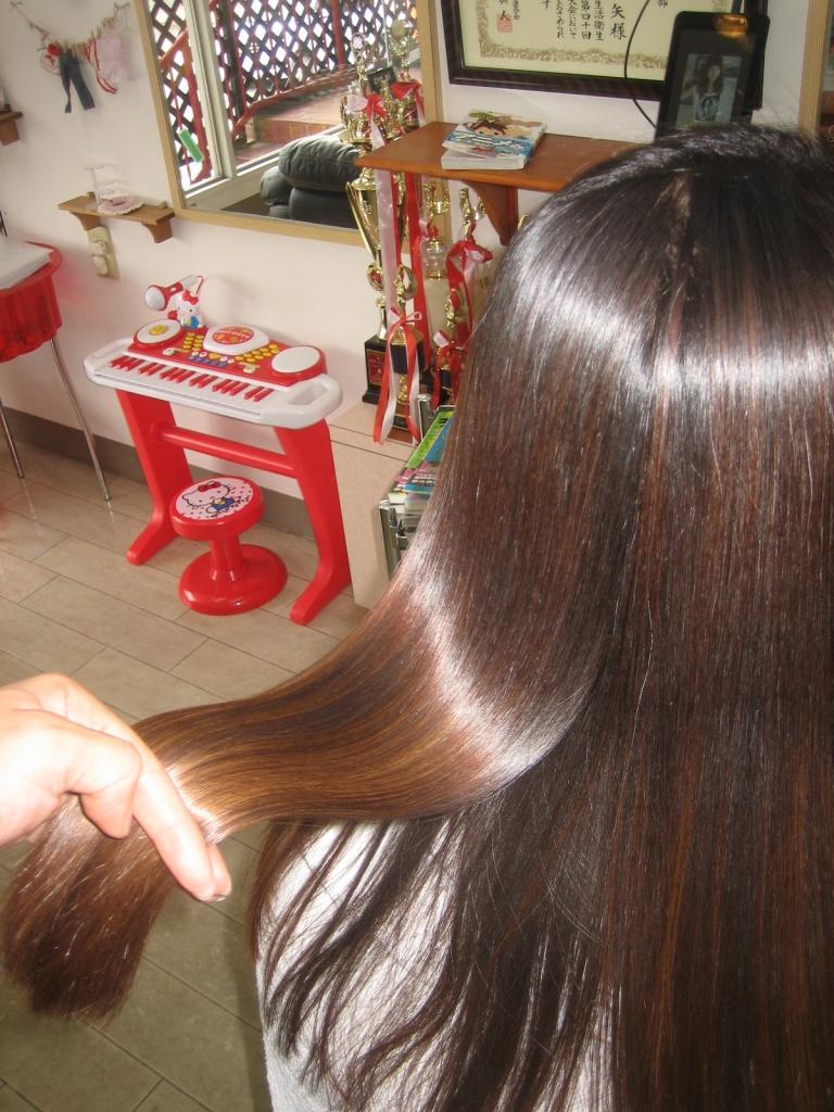 奈良市 美容室 縮毛矯正 髪質改善