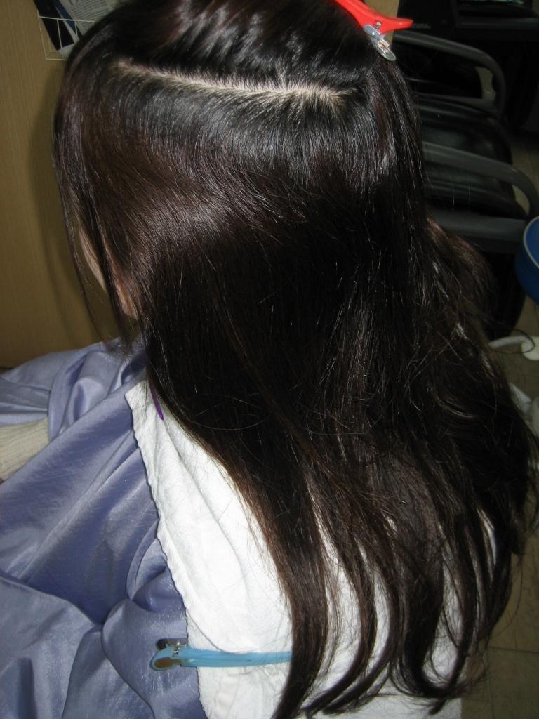 縮毛矯正の失敗 ビビリ毛 チリチリ ジリジリ 西大寺 高の原 学園前