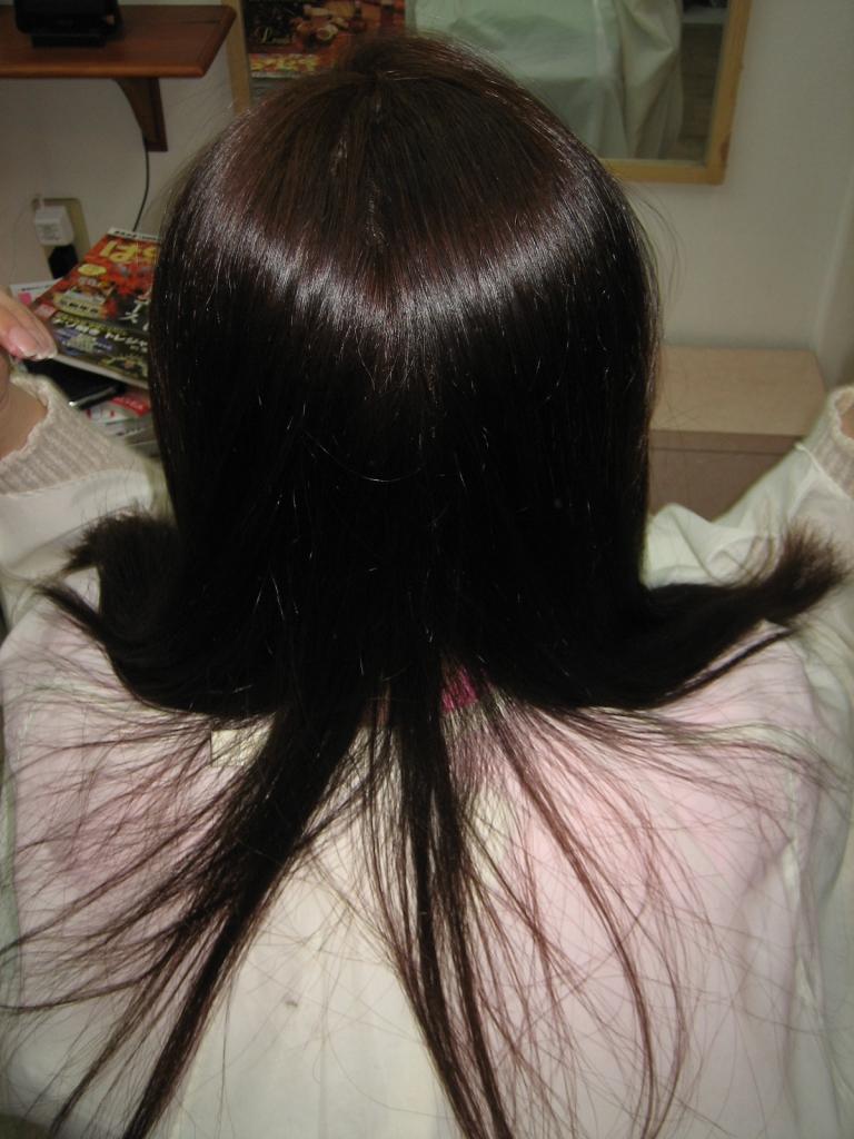 痛んだ髪を治す ダメージしない縮毛矯正 高の原 コスメストレート 高の原イオン