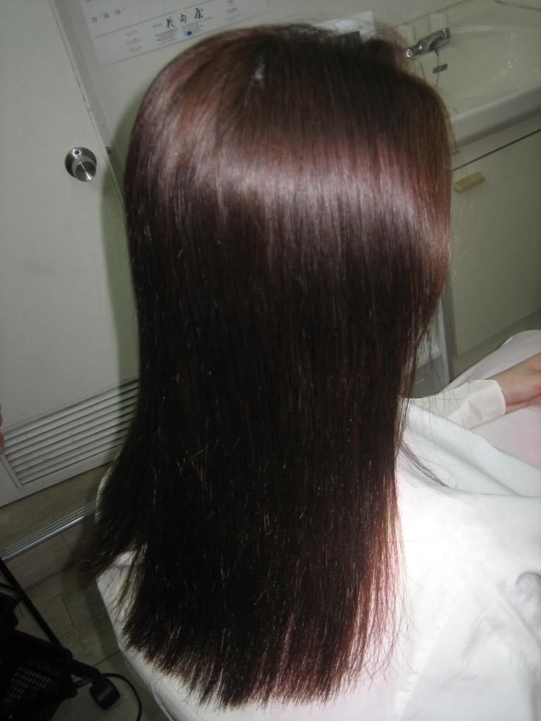 縮毛矯正 西大寺 髪質改善 大和西大寺 ならファ 究極ストレートパーマ 奈良ファ