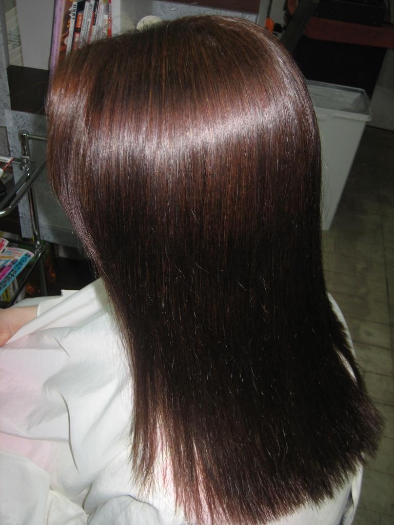 西大寺 究極ストレートパーマ 奈良ファ 縮毛矯正 髪質改善ストレートパーマ