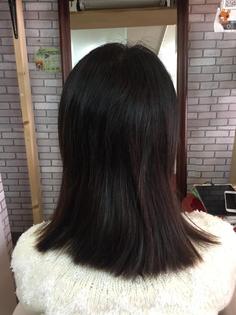 奈良県 髪質改善縮毛矯正 学園前 生駒 木津川市