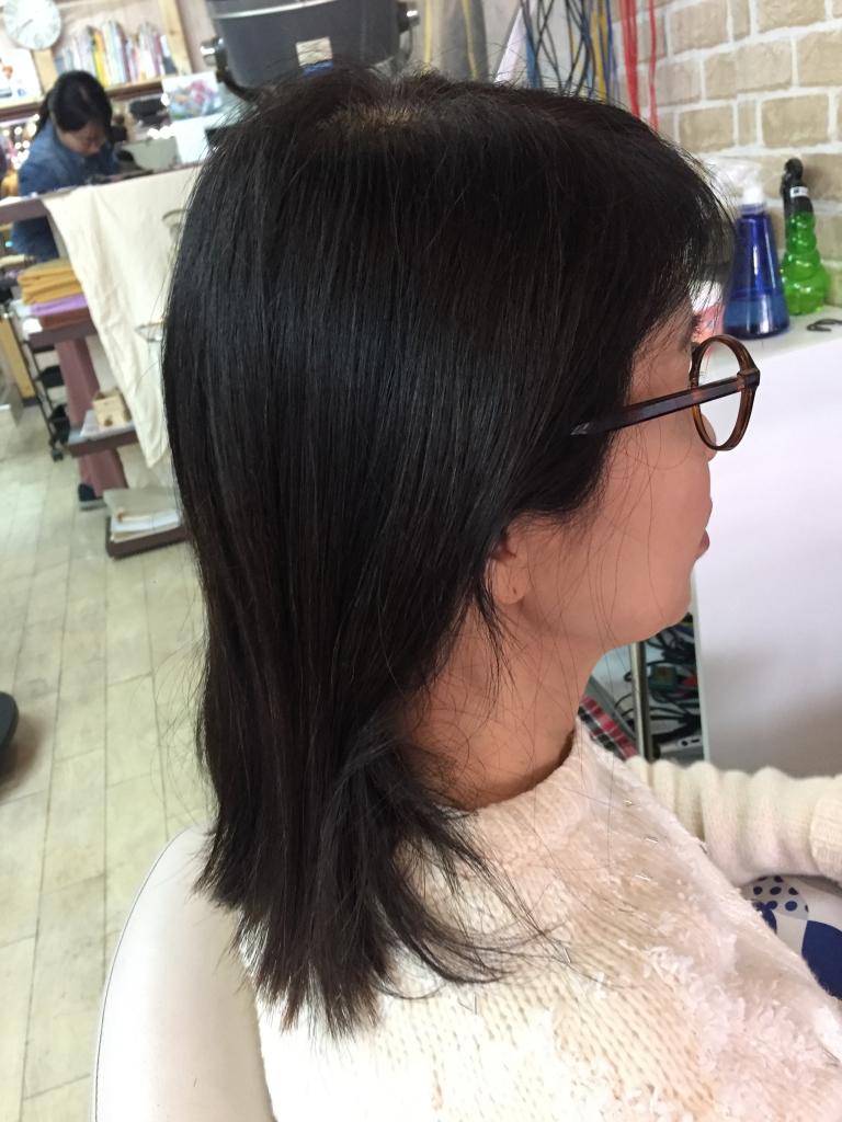 髪質改善縮毛矯正 高の原 大和西大寺 髪質改善ストレートパーマ 学園前 生駒