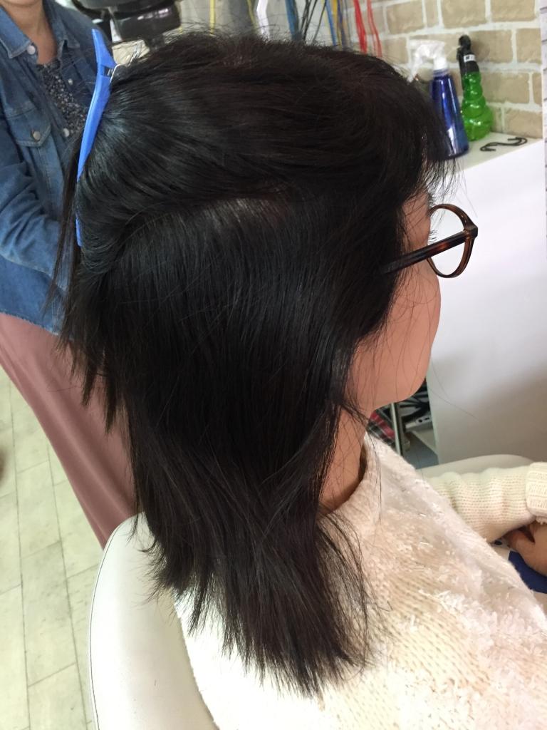 髪が痛まないストレートパーマ 学園前 奈良市 コスメストレート 西大寺 究極ストレートパーマ 高の原