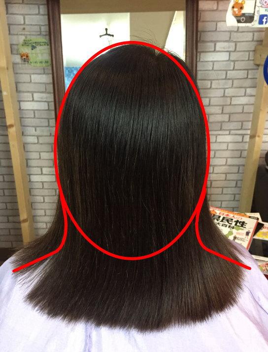 アラフィフヘア ボリュームアップ 根元の髪を立ち上げる