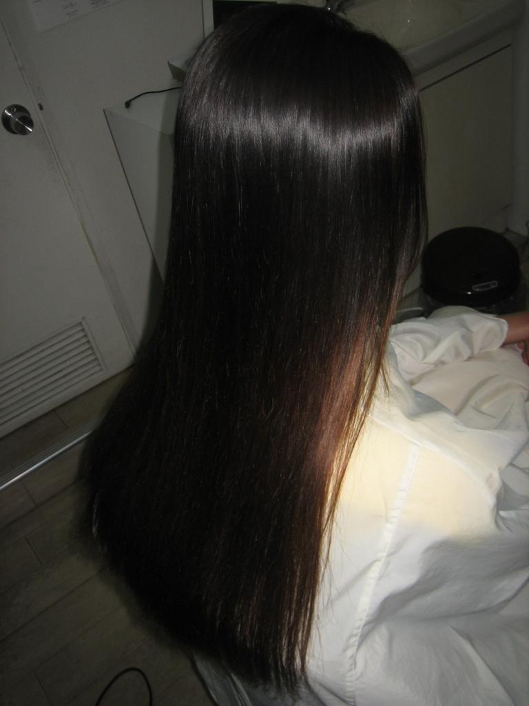 奈良市 美容室 学園前 西大寺 髪質改善 高の原 究極ストレートパーマ