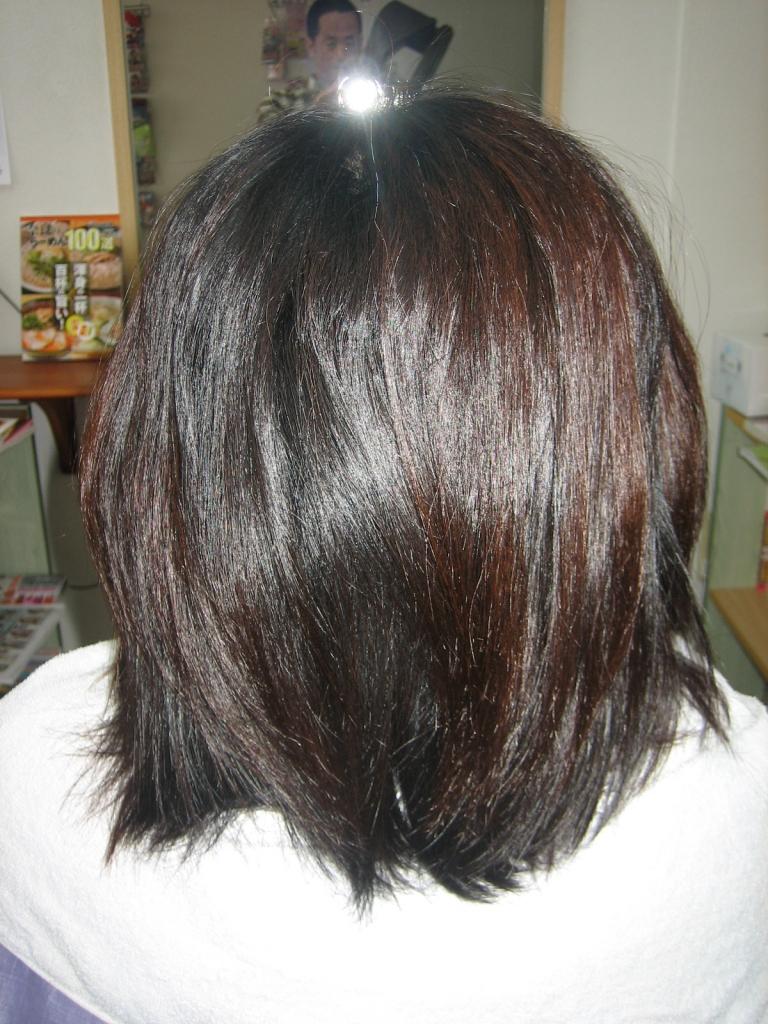 奈良市 美容室 学園前 髪質改善