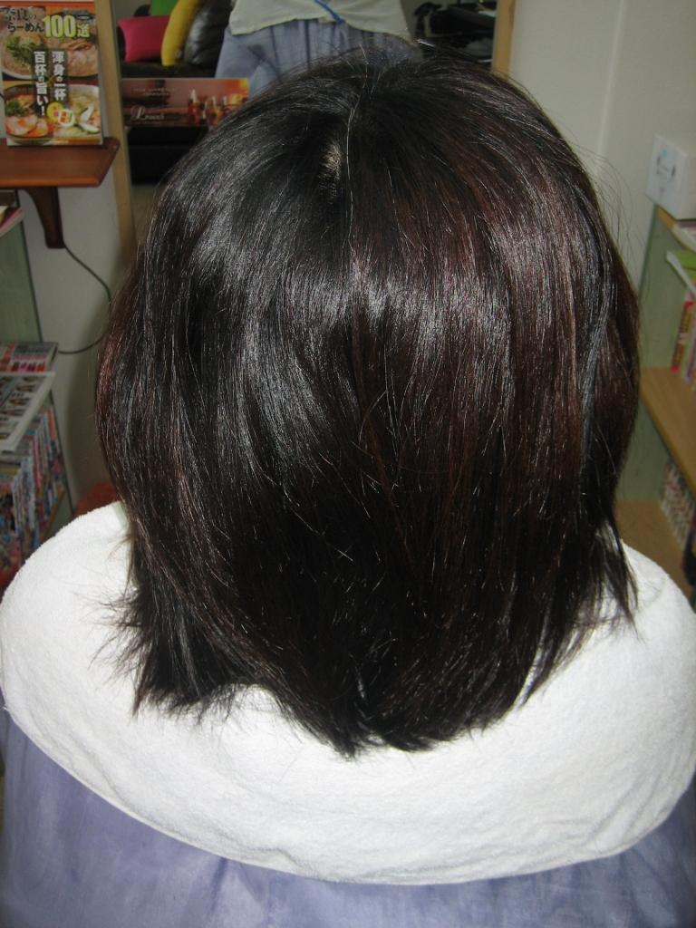 縮毛矯正 髪質改善 ストレートパーマ