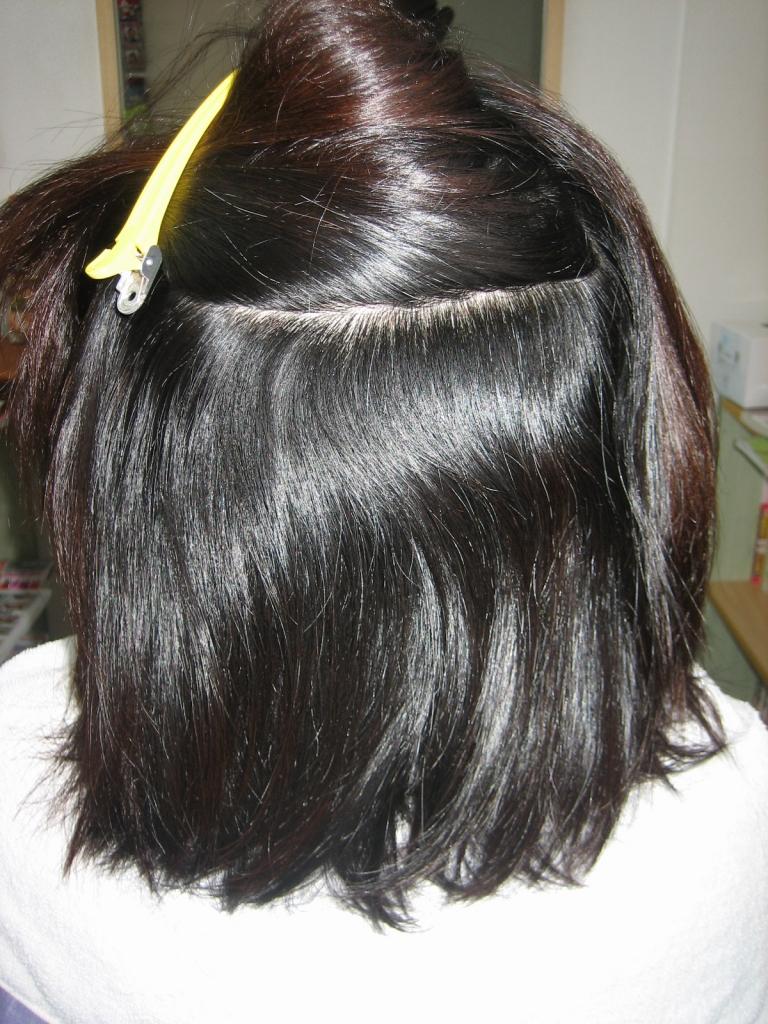 髪のボリュームコントロール 広がる髪を減らす 奈良 美容院