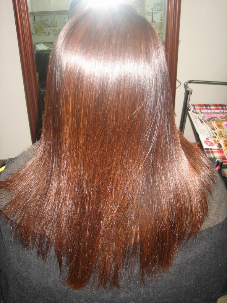 学園前 美容室 奈良市 縮毛矯正 髪質改善トリートメント