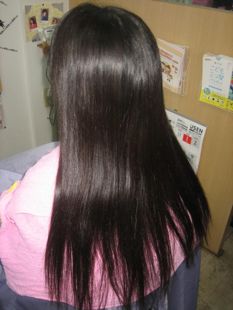 髪のボリュームアップ 髪のハリコシ 髪の弾力 奈良市 学園前美容室