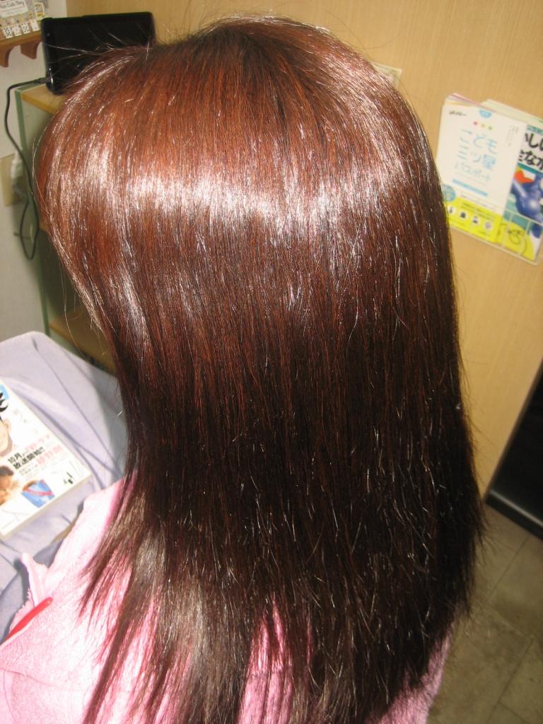 髪のくせが強い 痛みやすい髪 ダメージ家 縮毛矯正