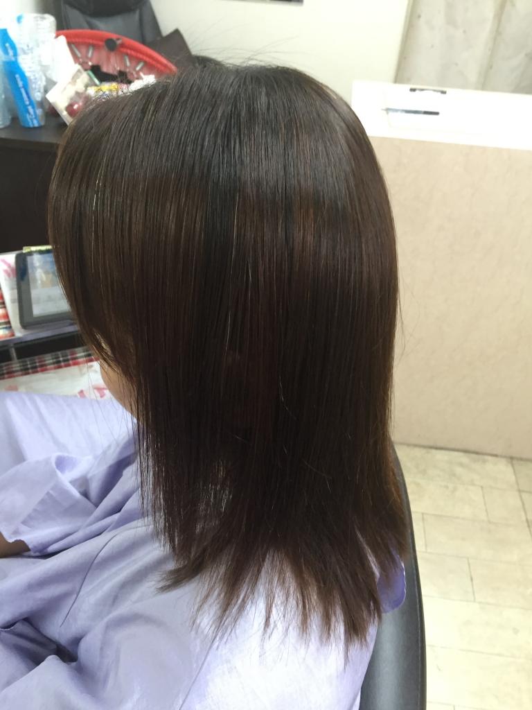 奈良市 あやめ池 美容室 髪質改善