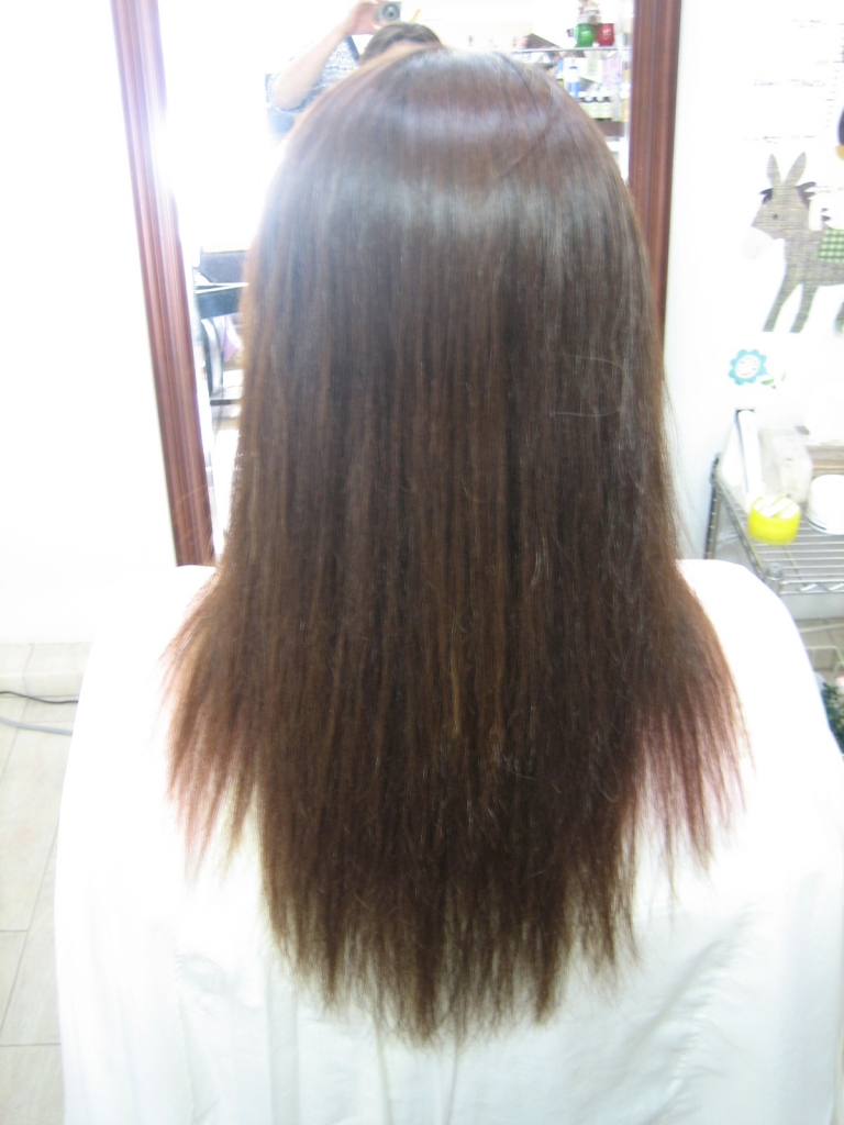 奈良市 ビビリ毛補修 トロ毛補修 髪質改善専門店 学園前 縮毛矯正