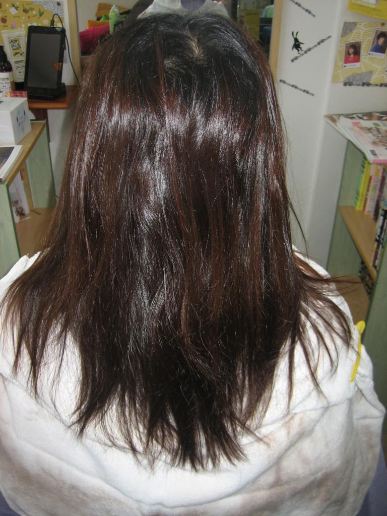 奈良市 痛まない縮毛矯正 生駒市 コスメストレート 北生駒 髪質改善 学園前