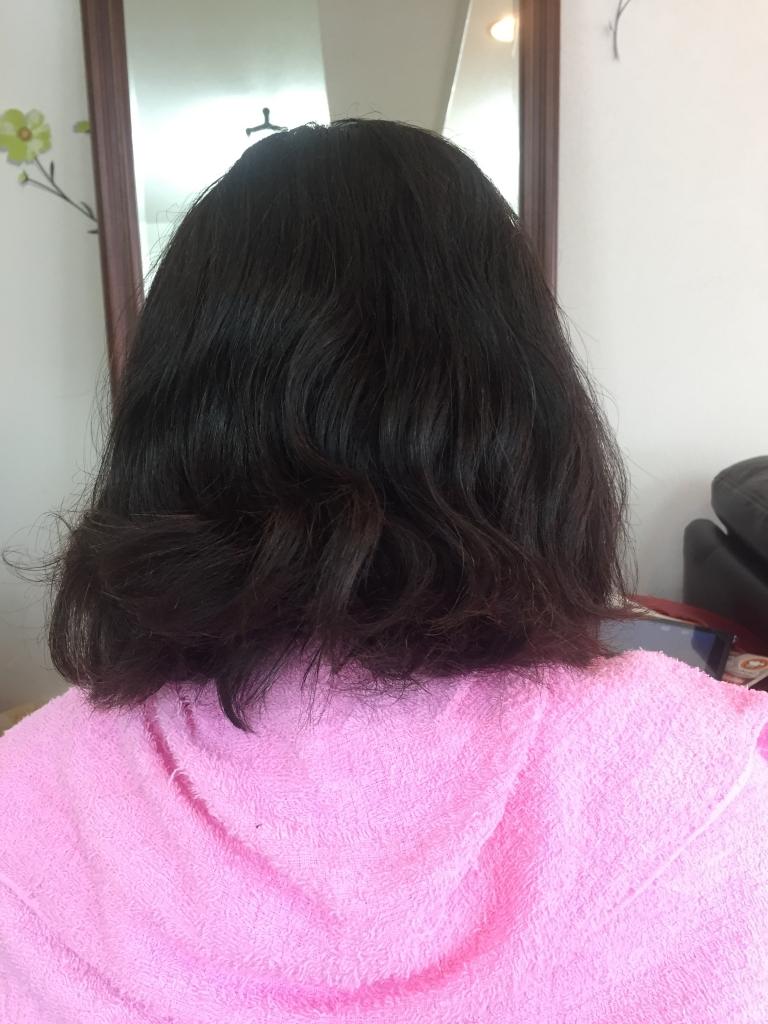 髪質改善 イメージチェンジ 奈良市 ストレートヘア 学園前 縮毛矯正