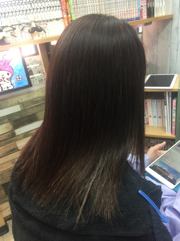 イメージチェンジ40代 ヘアスタイルチェンジ50代 学園前 美容室 微髪