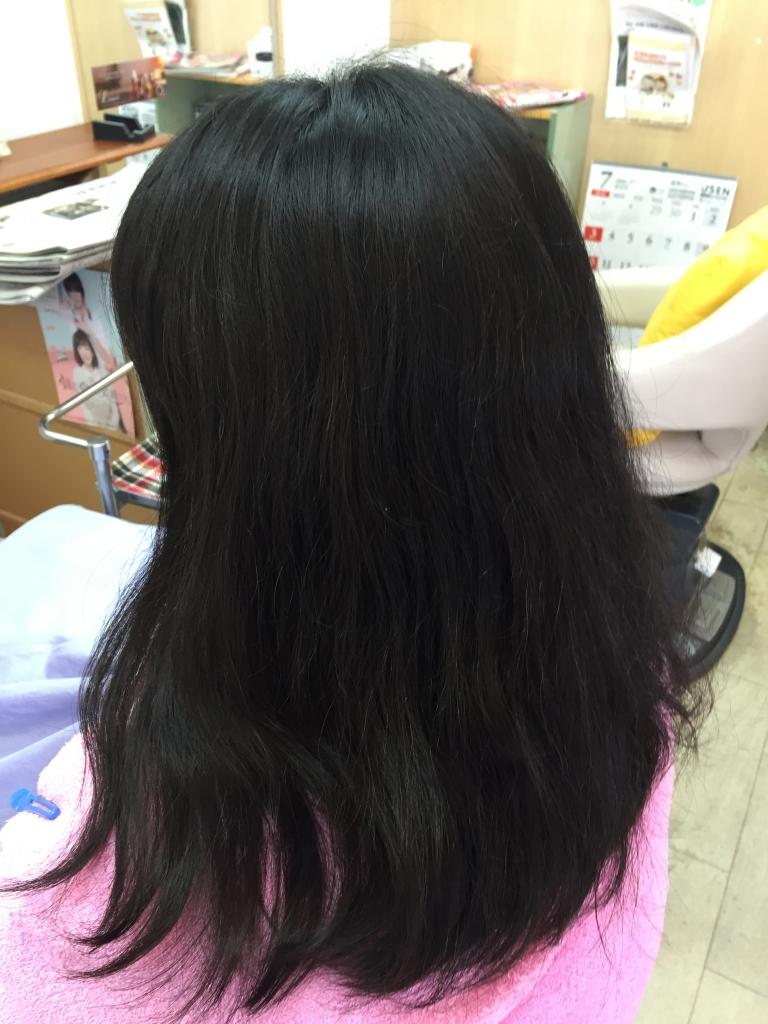 中学生の縮毛矯正 高校生の縮毛矯正 奈良市 中学生のストレートパーマ 学園前 高校生のストレートパーマ