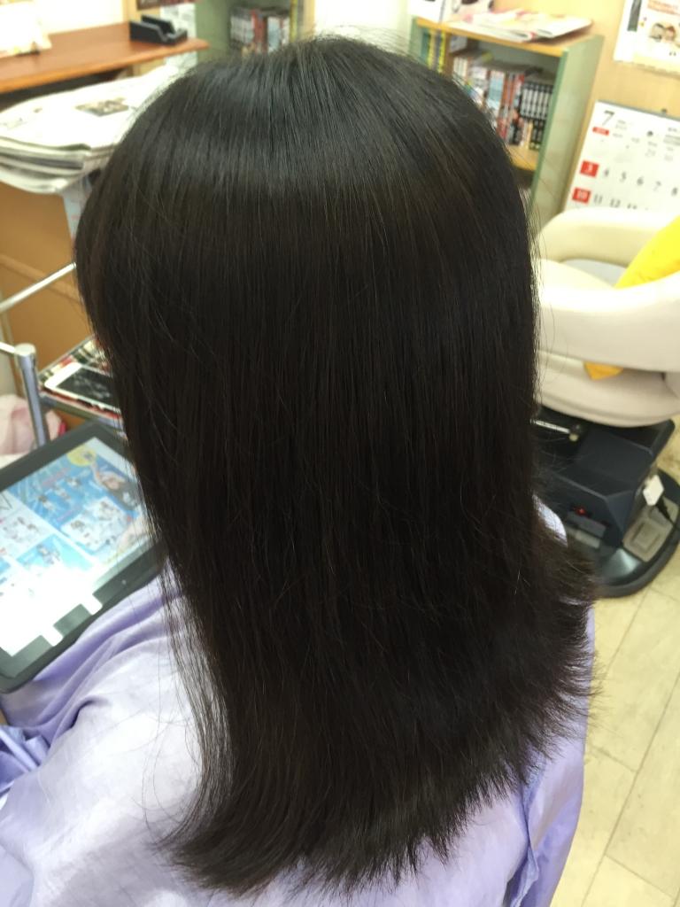 奈良市 学生の縮毛矯正 学園前美容室 ストレートパーマ 西大寺 髪質改善 高の原