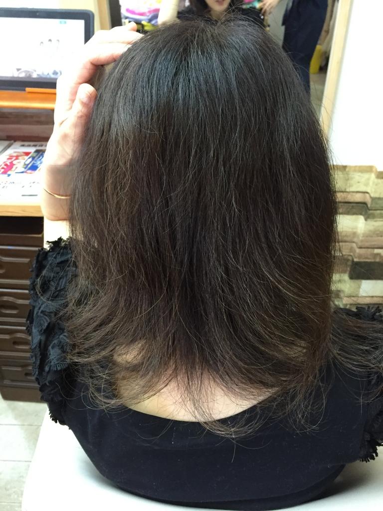 奈良市50代ヘアスタイル専門店 美容室 髪質改善 白髪染め