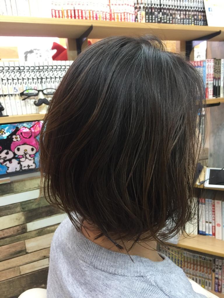 明るい白髪染め ノンジアミンヘアカラー 奈良市 美容室 ヘアカラー専門店