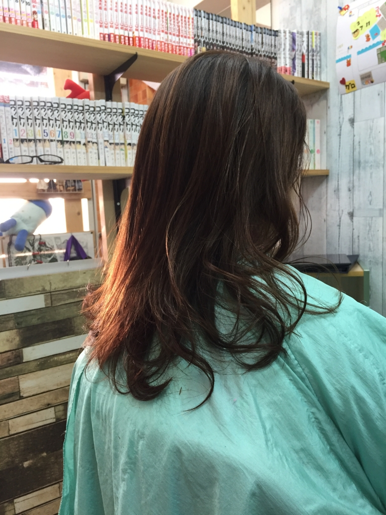 痛んだ髪はトリートメント 酸熱トリートメント 奈良 学園前