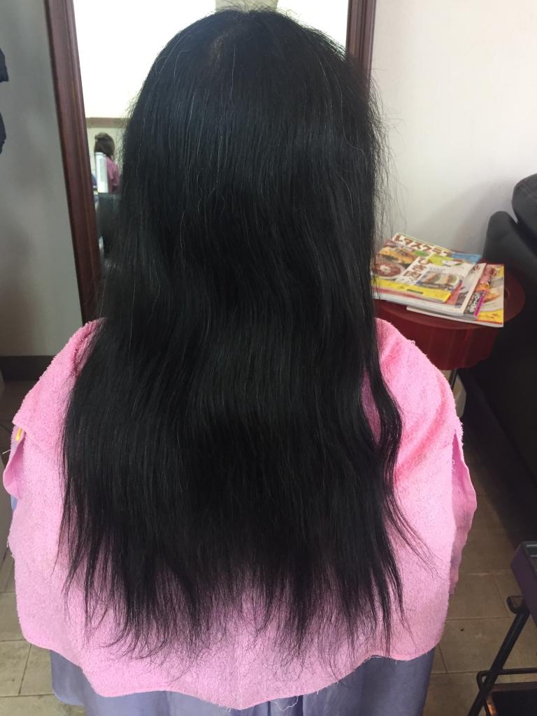 はじめての縮毛矯正 40代ヘアスタイル 加齢毛 大人の髪