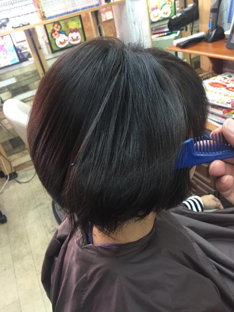 白髪染めの新しいやつ 奈良 美容室 ノンジアミン系ヘアカラー