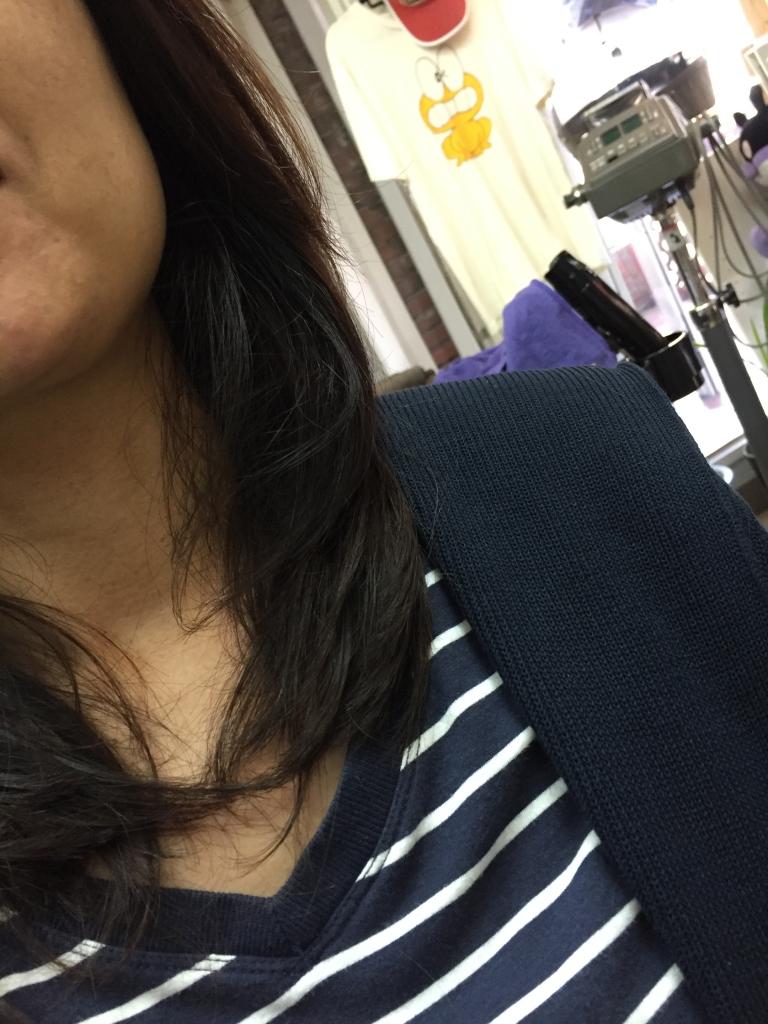 デジスト ストデジ デジタルパーマ 縮毛矯正をかけた毛先にパーマがかけられます
