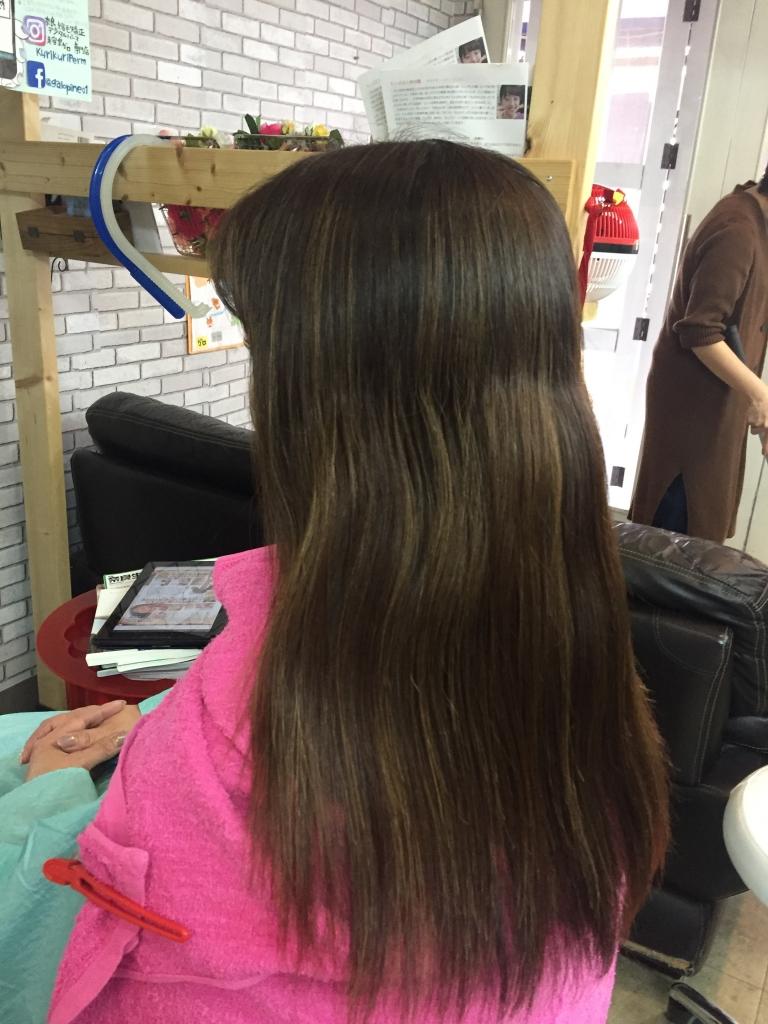アラフィフのヘアスタイル 40代ヘアスタイル 奈良市 美容室