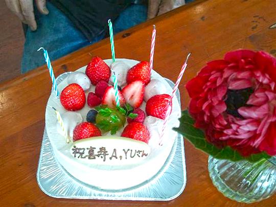 祝 喜寿。