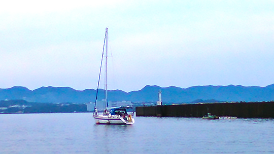 6/18入港-2 ビジター様。