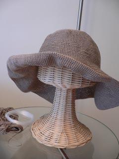 くつろぎラミーの帽子