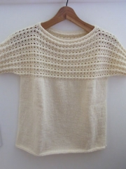 ストレートネックセーター