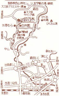 卯乃木地図