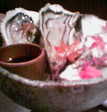 ボケボケ写真の牡蠣