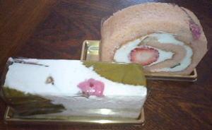 サクラのケーキ