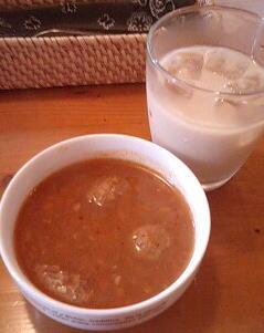 カリエンテランチスープ
