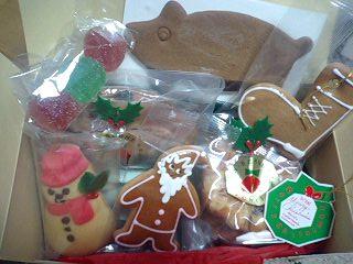 ベルンのクリスマス菓子セット