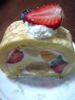 ペドノンヌロールケーキ