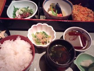 桜海老かき揚定食