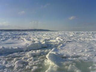 おーろらからの流氷